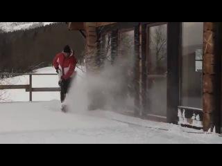 Снегоуборщик электрический Alpina