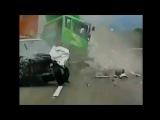 Ужасные аварии грузовика 2012 Октябрь
