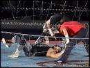 Atsushi Onita, Katsutoshi Niiyama Mr. Gannosuke vs. Hideki Hosaka, Mr. Pogo The Gladiator - [FMW Show][25.09.1994]