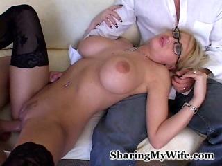 Cumshots mature wife