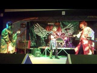 Gothic J-Rock Party. Mitsuki Sakai, Takemasa Kujo и Tokai Junji (Kiryu)