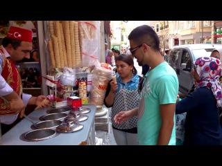 Продавец мороженого в Турции (Стамбул)