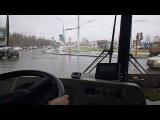 Троллейбус 94 кемерово едет в депо с ФПК. За рулем стажер Наталья Соколова.