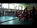 Чемпионат харьковской области по кик-боксингу (дополнительный раунд)