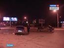Не поделили перекрёсток Товарищеского и Российского проспектов