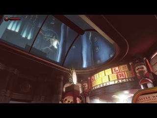 Первые 5 минут геймплея Bioshock Infinite- Burial at Sea - Burial at Sea First 5 Minutes gameplay.