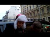 Наталия Орейро - Питер 13.12.2013 (провожаем с отеля)