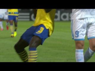 Лига Чемпионов 2013-2014 / Группа F / 1-й тур / Марсель (Франция) - Арсенал (Англия) / 1 тайм [720p HD]