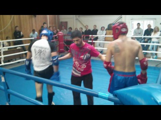 Открытый ринг 27.10.13 Чеботарь Димитрий-Скрябин Эдуард 2 раунд