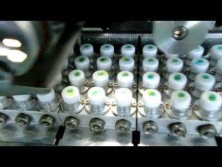 Автоматический тампонный станок для печати на крышках