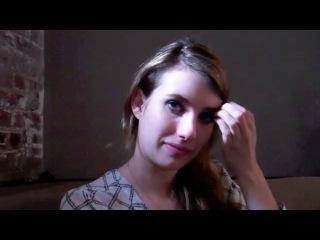Emma Roberts talks