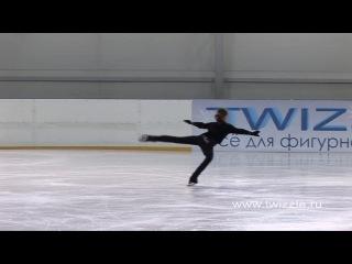 Риттбергер (2 оборот) в исполнении Аделины Сотниковой