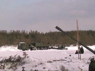 Артиллерийский тягач на базе КАМАЗ 6350