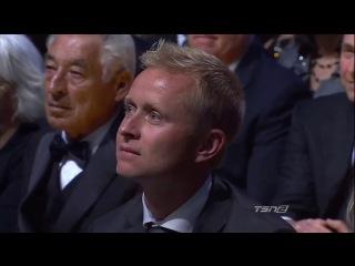 Павел Буре - церемония введения в Зал славы НХЛ