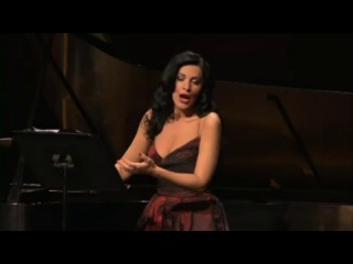 Angela Gheorghiu - Bizet- Chant d'amour - recital in Los Angeles, March 2013