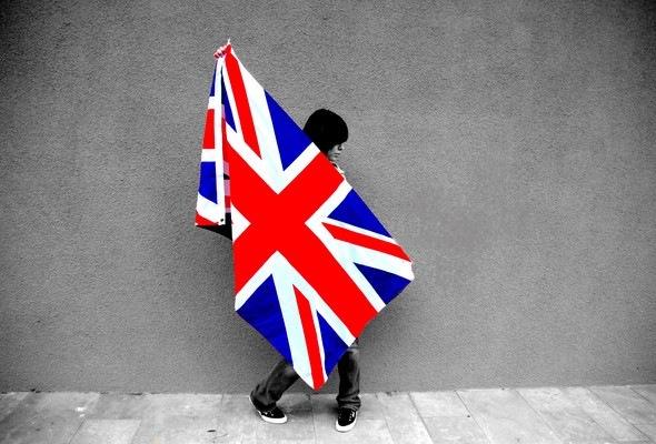 красивые обои флаг, девушка, стена, обои, фотография 72569,обои на...