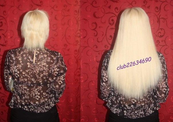 Колпино наращивание волос