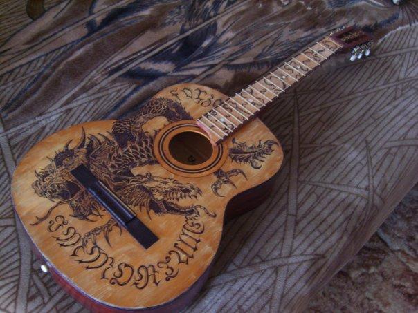Акустическая гитара ремонт своими руками