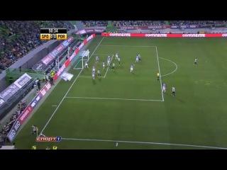 Лига Сагреш 2013-14 / 23-й тур / Спортинг Л. 1-0 Порту / Обзор матча