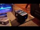 Беспроводная стереоколонка-усилитель звука 'Boose' для iPhone и др. мобильных устройств