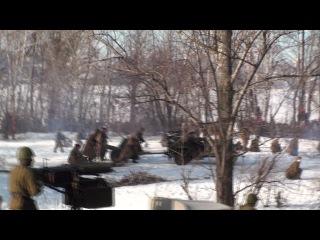 реконструкция боя за Воронеж 27.01.2013