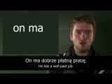 Глагол mieć. (Język polski / Polszczyzna / Польский язык / Польська мова / Polish)