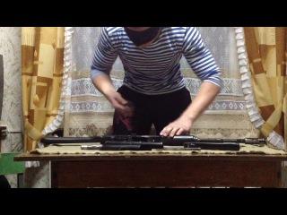 разборка - сборка ак за 30 сек с закрытыми глазами (2014)