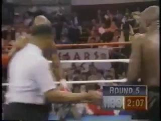 1993-02-13 James Toney vs Iran Barkley (IBF super middleweight title)