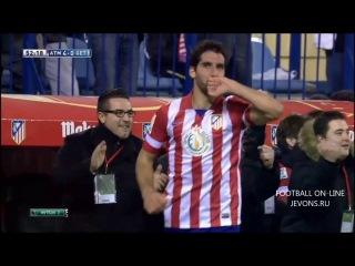 Атлетико Мадрид - Хетафе 7-0 обзор матча 24.11.2013 HD 720