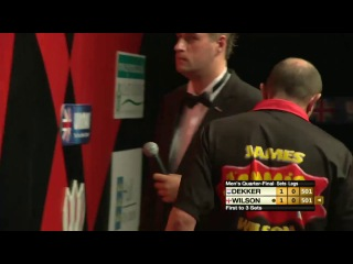 James Wilson vs Jan Dekker (Winmau World Masters 2013 / Quarter Final)
