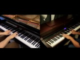 Jiyuu no Tsubasa - Shingeki no Kyojin OP2 - Piano Duet with Tehishter