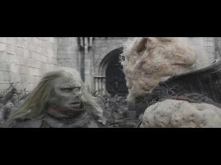 Властелин Колец: Возвращение Короля (HD 720) (Сцена с тараном