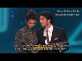 Ian Somerhalder & Nina Dobrev win People's Choice for Favorite On-Screen Chemistry (rus sub) 1:14