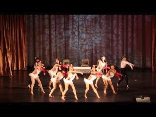 Танец A little party Конкурс Волна успеха 1 место