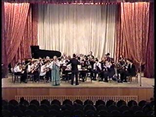 Русская народная песня в обработке Слонова
