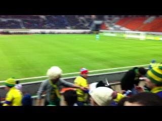 Анжи - Удинезе стадион Черкизово ( Москва )