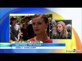 Emily VanCamp - Good Morning America 27.09.13