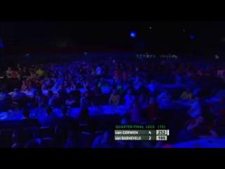 Michael van Gerwen vs Raymond van Barneveld (PDC Coral Masters 2013 / Quarter Final)