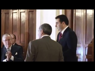 Глава Грузинского Царского Дома Князь Давид Багратион награждает Орденом Орла Грузии. Ч. 2