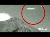 НЛО сигары засняли  , возле жерла вулкана  Попокатепетль Мексика, 21 февраля 2013 HD