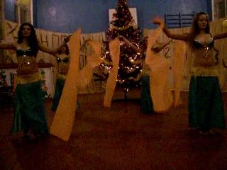 арабский танец на Новый год (11 класс)