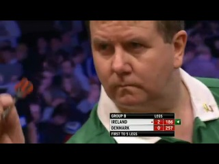 Ireland vs Denmark (PDC World Cup of Darts 2013 / First Round)
