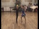 Новогодняя елка на танцах:ча-ча-ча