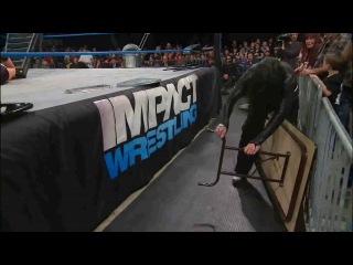 TNA Impact Wrestling Jeff Hardy vs Chris Sabin (Русская версия от JusticeTV Павел Мнеян/Влад Тимофеев)