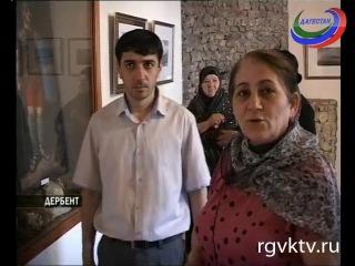 В Дербенте прошла выставка глухого художника М. Сеидова