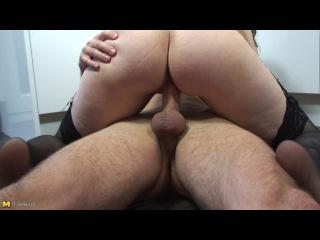 Mature.NL: Kitchen Sex With Horny MILF (mature, MILF, BBW, мамки - порно со зрелыми женщинами)