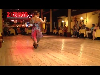 Peninsula Cho Beau Chispita Kim Tango Yuyo Brujo en Club Gricel Feb 2014