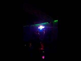 Танцы в Мармарисе на стойке с факелом!