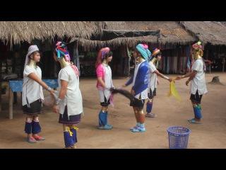 танец девушек племени Каренов » Freewka.com - Смотреть онлайн в хорощем качестве