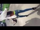 Алёна Пискун раздевается на улице!!!!